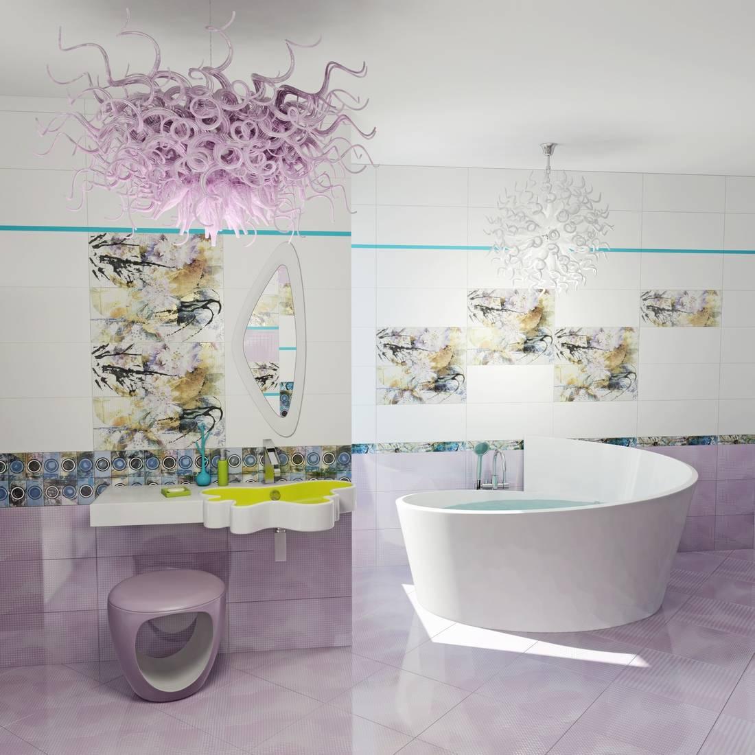 Ceramic tiles bathrooms