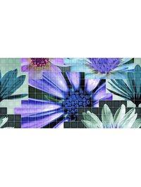 Mosaico blanco Flor 2