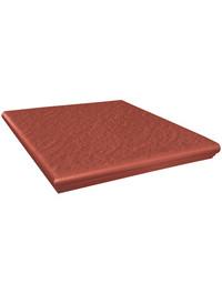 угловой Simple red 3-d 33х33