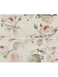 Garden Rose beige panno 01 600х500 (комплект из 2 шт)